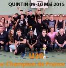 Vice-champions de France pour les U20 de Noisy !