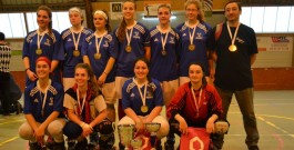 Médaille d'or pour les féminines U20 IDF