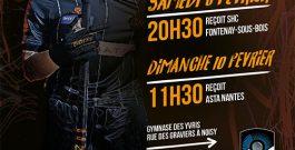 9 et 10 Février 2019 – La N1 féminine recoit Fontenay et Asta Nantes