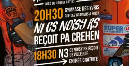 6 avril – Noisy reçoit PA Crehen