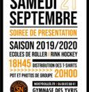 21 septembre 2019 – Présentation des équipes élites