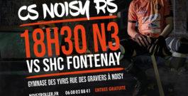 Match N3 le 23 novembre : Noisy vs Fontenay