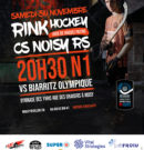 Le 30 novembre : Noisy vs Biarritz Olympique