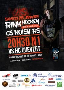 25 janvier 2020 – Match N1 Noisy vs Quevert